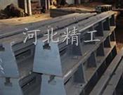 地轨-T型槽铁-铸梁平台