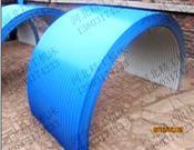 皮带机防雨罩-皮带机彩钢防雨罩-皮带机走廊防雨罩