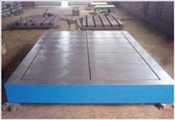 铸铁平板平台图片